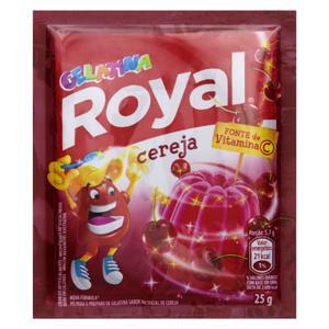 Gelatina em Pó Cereja Royal 25g