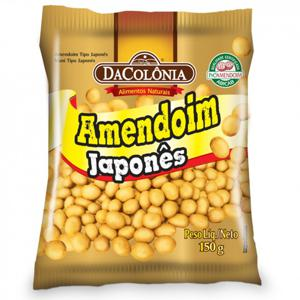 Amendoim Torr Da Colonia 150G Japones