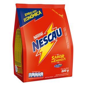 Achocolatado em Pó Nestlé Nescau Pacote 800g Embalagem Econômica