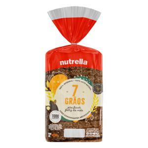 Pão Integral 7 Grãos Nutrella Pacote 450g