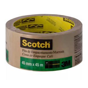 Fita Scotch Para Empacotamento 45Mm X 45Mm Marrom