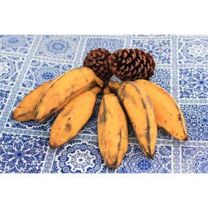 Banana marmelo (KG) Orgânica- podem vir verdes