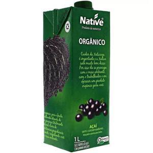 Açaí com guaraná orgânico - 1L