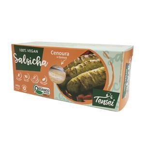 Salsicha Vegetal TENSEI Cenoura Quinoa 200g