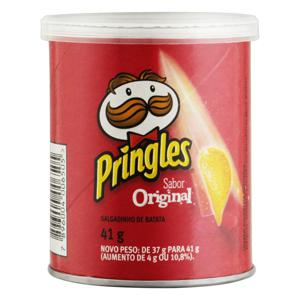 Salgadinho de Batata Original Pringles Lata 41g
