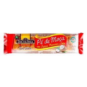 Pé de Moça com Açúcar Mascavo e Coco DaColônia Pacote 110g