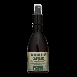 Água de aloe capilar 210ml - Livealoe