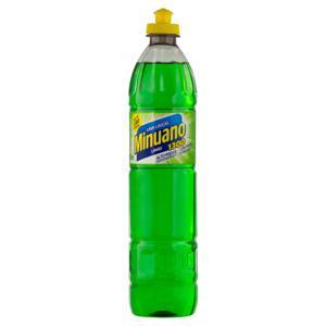 Detergente Líquido Limão Minuano 1300 Frasco 500ml