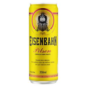 Cerveja Pilsen Puro Malte Eisenbahn Lata 350ml