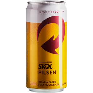 Cerveja Pilsen Skol Lata 269ml