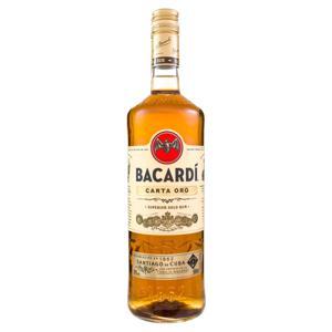Rum Brasileiro Carta Ouro Bacardi Garrafa 980ml