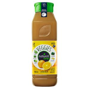 Suco Misto Laranja Natural One Veggies Refrigerado Garrafa 900ml