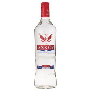 Vodka Tridestilada Askov Garrafa 900ml
