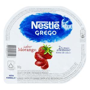 Iogurte Grego Morango Nestlé Pote 90g