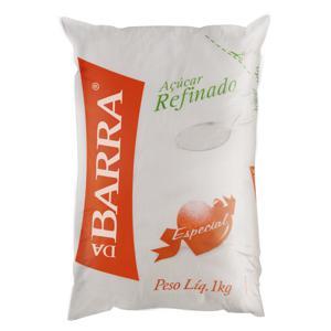 Açúcar Refinado Especial Da Barra Pacote 1kg