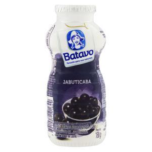 Bebida Láctea Fermentada Jabuticaba Batavo Frasco 180g