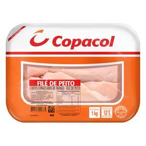 Filé de Peito COPACOL Congelado Bandeja 1Kg