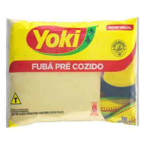 Fubá Pré-Cozido Yoki Pacote 1kg