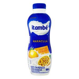 Iogurte Parcialmente Desnatado Maracujá Itambé Garrafa 900g