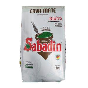 Erva Mate Sabadin Nativa 1Kg Zero Acucar