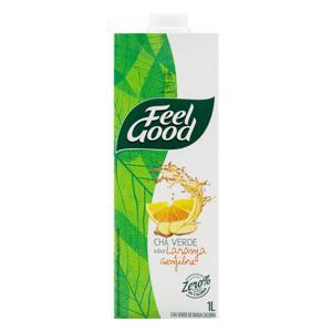 Chá Verde Laranja e Gengibre Feel Good Caixa 1l