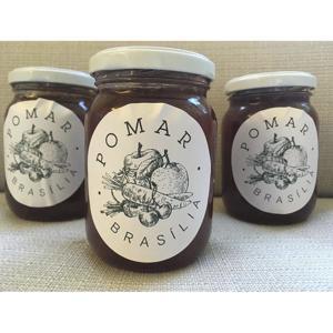Geleia de Morango caseira (400g)- produtos orgânicos