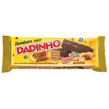 Chocolate Wafer Dadinho Coberto com Chocolate 126g
