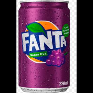 Refrigerante Fanta 220ml Uva