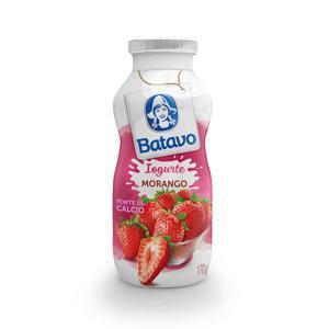 Iogurte Liquido Batavo Morango 170G