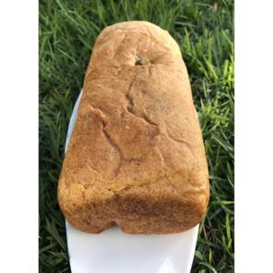 Pão vegano  integral (fermentação natural ) aprox. 500g