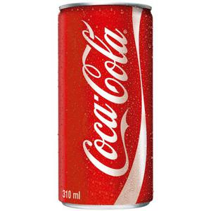 Refrigerante COCA COLA Tradicional Lata 310ml