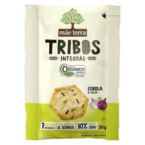 Biscoito Integral Orgânico Cebola & Salsa Mãe Terra Tribos 50g
