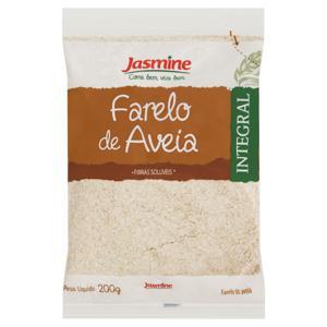 Farelo de Aveia Jasmine Pacote 200g