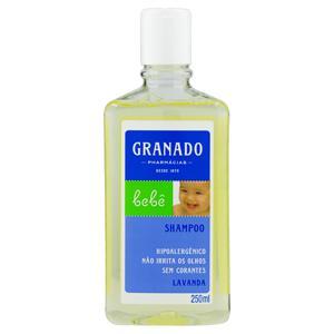 Shampoo Lavanda Granado Bebê Frasco 250ml