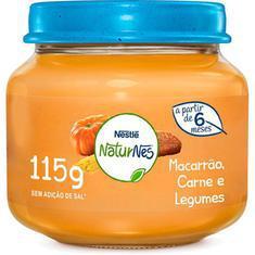 Alimento Infantil 115G Nestlé Carne, Legumes e Macarrão