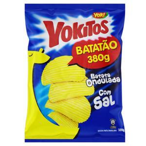 Batata Frita Ondulada com Sal Yoki Yokitos Pacote 380g