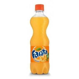 Refrigerante FANTA Splash Laranja 500ml