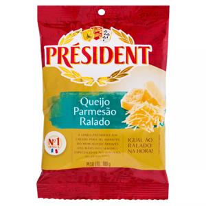 Queijo Ralado President 100G