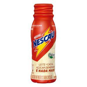 Bebida Láctea UHT Chocolate Orgânico Nestlé Nescau Frasco 200ml