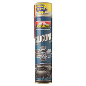 Silicone Spray Perfumado Aqua Proauto Lata 321ml Grátis Esponja