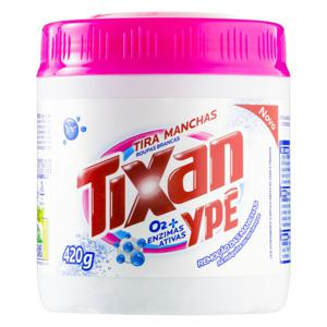Tira-Manchas em Pó Roupas Brancas Tixan Ypê Pote 420g