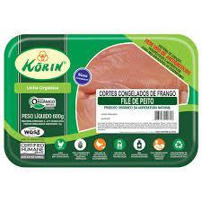 Filé de peito de frango orgânico 600g - Korin
