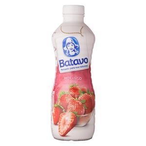 Bebida Láctea Fermentada Morango Batavo Garrafa 900g