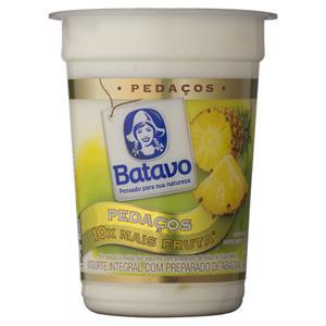 Iogurte Integral Abacaxi Batavo Pedaços Pote 170g
