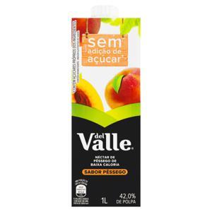 Néctar Pêssego Del Valle Caixa 1l