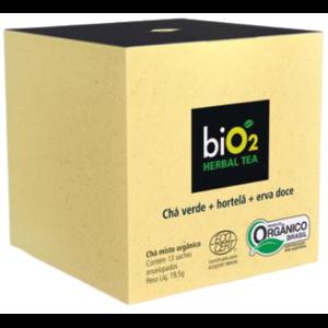 Chá Verde com Hortelã e Erva Doce Bio2 19,5g