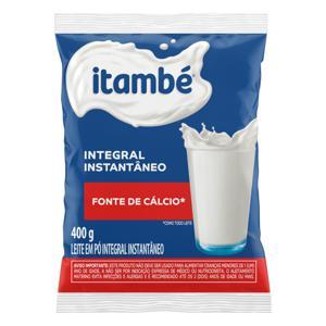 Leite em Pó Instantâneo Integral Itambé Pacote 400g