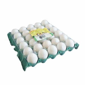 Ovos Brancos PRIMAVERA Bandeja 30 Unidades