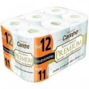 Papel Higiênico CARINHO Premium Folha Dupla Neutro Leve 12 Pague 11 Unidades