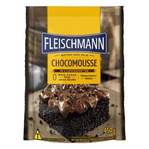 Mistura para Bolo Cremoso Chocomousse Fleischmann Sachê 450g